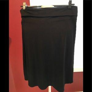 Old navy black knit skirt